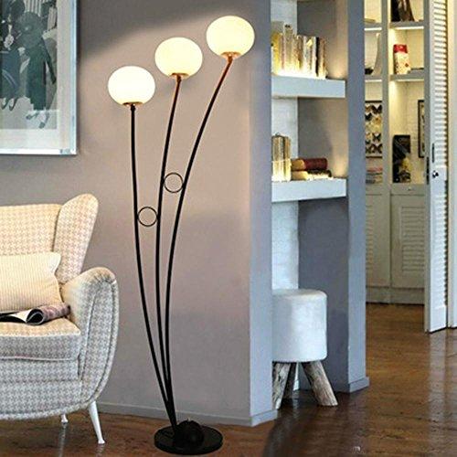 OOFAY Lichter Moderne Stil Sphärische LED Weiß Schwarz Glas
