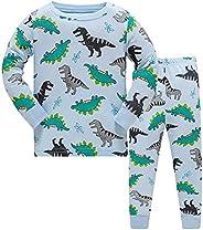Ceguimos Pijamas de Manga Larga para niños 100% Algodón