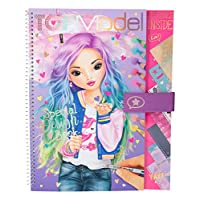 Depesche 10198 Colouring Book Special Design Book Top Model Colourful
