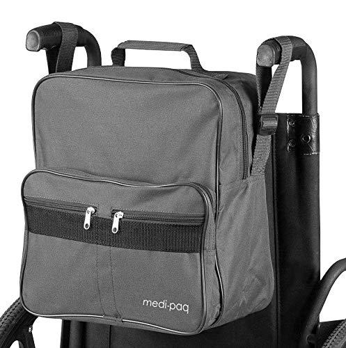 Rollstuhl Seite Tasche (Medipaq - Rollstuhl-Tasche, zur Befestigung an den Griffen)