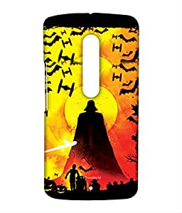 Dawn beast Phone Cover for Moto X play by Block Print Company