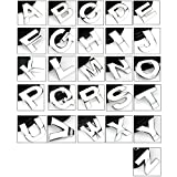 zantec 1silber einzelnen Auto Chrom 3D Buchstaben oder Zahlen Emblem Badge Aufkleber