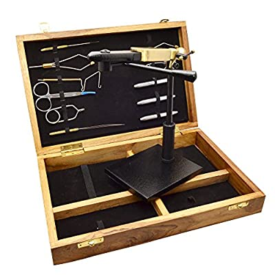 Airflo Expert Tool And Vice Boxed Set For Fly Tying - Quality Vice And Tools Perfect Fly Fishing Starter Gift by Airflo