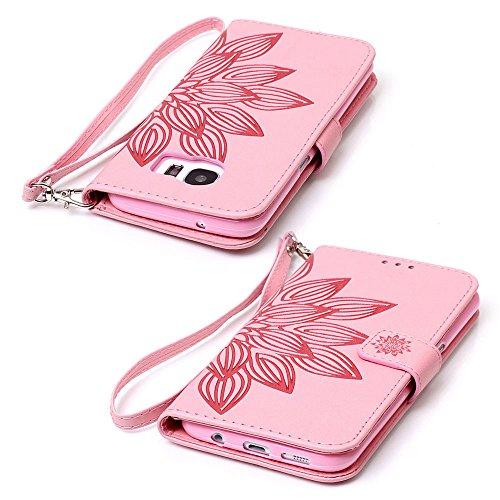 SAMSUNG PHONE CASE?XFAY HX456 Phone Case Samsung Galaxy Campanula Serie Handytasche Handyhülle Case ?PU Leder Flip Wallet Case Cover Schutzhülle für Samsung Galaxy A310-14 Farbe-2