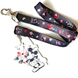 Genuine CATH KIDSTON x DISNEY Mickey and Minnie Mouse Lanyard NEW with