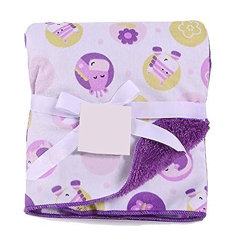 [Deer&Elephant] Multifunktions-Soft Velvet Warme Decke/Werfen für Baby