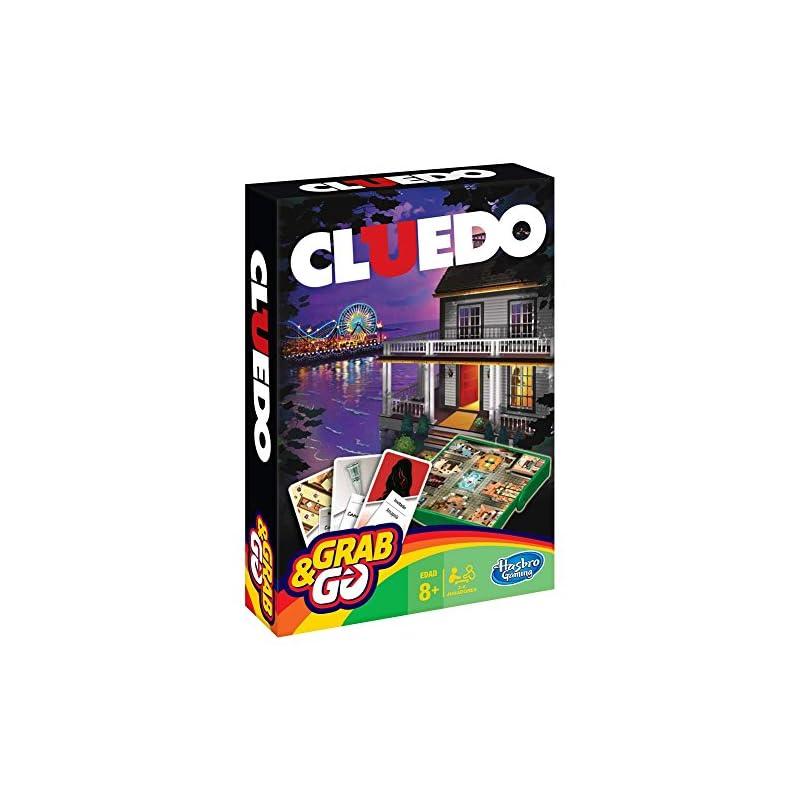 Hasbro Gaming Cluedo Juego De Viaje Tienda Juegos De Mesa
