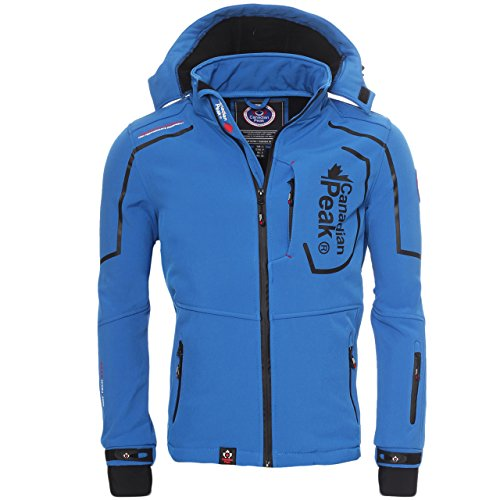 Canadian Peak by triyuga Geographical Norway - Giacca softshell Outdoor Blau s