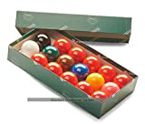 Aramith Snooker Balls (1 and 3/4 inch, 44mm, with 10 reds) -
