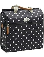Unbekannt Unisex Lilly Polka Gepäckträgertasche Einkaufstasche