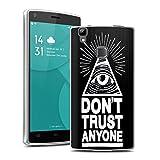 Easbuy TPU Transparent Silikon Tasche Case Etui Cover Hülle für Doogee X5 Max / Doogee X5 Max Pro Handytasche Handyhülle Schutzhülle