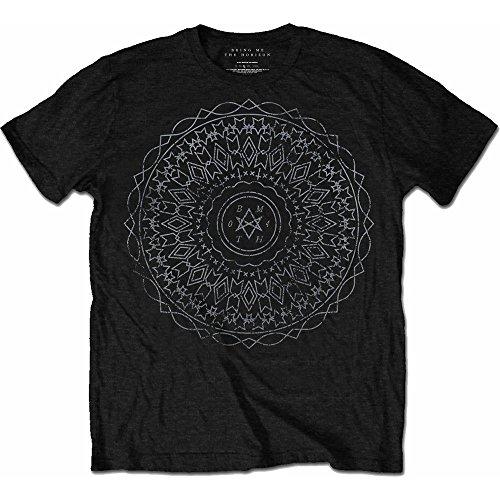 Rockoff Trade Herren Kaleidoscope T-Shirt, Schwarz Black, X-Large