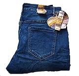 Zac & Zoe Boyfriend Brand Denim Damen Jeans Baggy Stretch/Denim-Blue-Used/B232 (42)