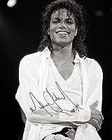 MICHAEL JACKSON#1 10 x 8 Photo avec autographe de laboratoire de qualité supérieure