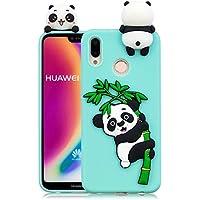 Everainy Huawei P20 Lite Silikon Hülle Ultra Slim 3D Panda Muster Ultradünn Hüllen Handyhülle Gummi Case Huawei... preisvergleich bei billige-tabletten.eu