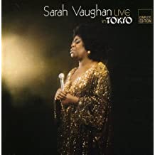Live in Tokyo by Sarah Vaughan (2008-09-02)