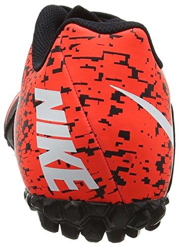 Nike Bombax Tf, Scarpe da Calcio Uomo Nero (Black/white/total Crimson)
