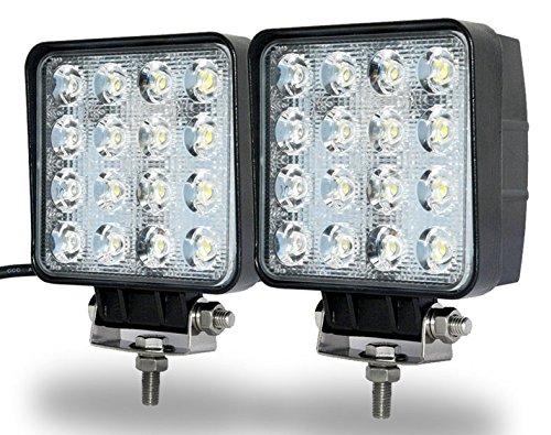 LED Luz de trabajo,JieHe Led Work Light Barra Led 48W Luces Trabajo...