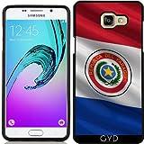 Coque Silicone pour Samsung Galaxy A5 2016 (SM-A510) - Drapeau Du Paraguay by Carsten Reisinger