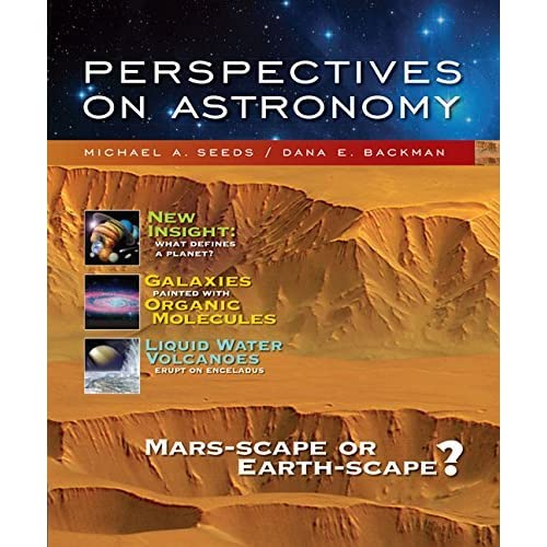 Perspectives on Astronomy, Media Edition (with CengageNOW, Virtual Astronomy Labs Printed Access Card) (Available 2010 Titles Enhanced Web Assign) by Michael A. Seeds (2007-01-31)