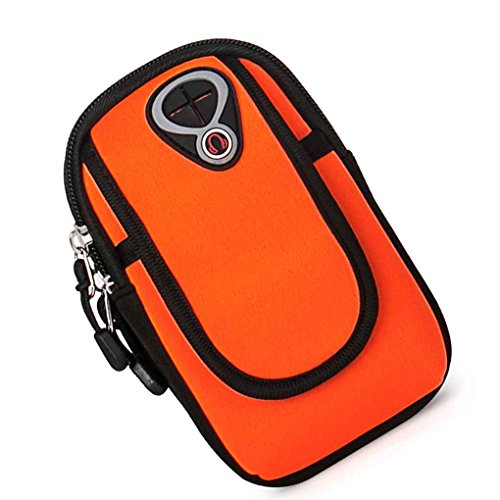 Bobury YIPINU Men Women Running Armband Sports Mobile Phone Arm Bag Pouch Case Belt Purse for Xiaomi 4 iPhone 6s 6 Plus Huawei M7 -