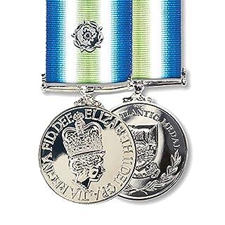 Falklands South Atlantic Full Size Medal and Rosette