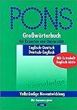 PONS Großwörterbuch Englisch für Experten und Universität. Englisch - Deutsch / Deutsch - Englisch. Mit Daumenregister.