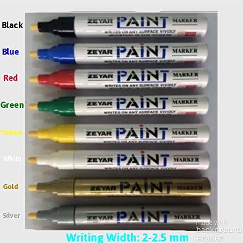 noir-12-mm-universel-etanche-peinture-permanent-stylo-huile-marqueur