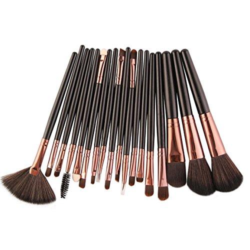 Neue 15 Stk ,18 Stk ,20 Stk Make-up Pinsel Set, Moonuy Make-up Augenbrauen Mascara Pinsel, Schwamm...