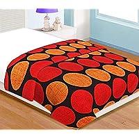 Shopbite Poly Cotton Flower Print Double Bed Reversible Blanket/Dohar/Blanket/Dohar/QuiltFor Home