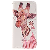 iPhone 6Plus/6sPlus Case, JGNTJLS Colorful-Pattern, Multifunctional Cover Wallet For Apple 5.5