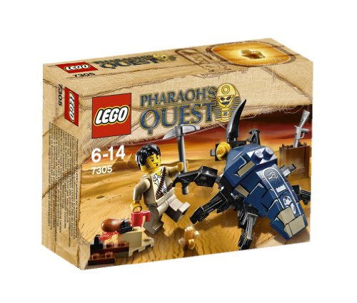 LEGO Pharaoh's Quest - 7305 - Jeu de Construction - L'attaque du Scarabée
