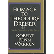 Homage to Theodore Dreiser, August 27, 1871-December 28, 1945, on the Centennial of His Birth
