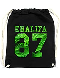 Khalifa Weed Bolsa De Gym Negro Certified Freak