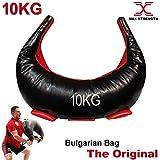 Max Strength - Borsa bulgara, in Pelle Sintetica, per Sollevamento Pesi, Fitness, Allenamento, Judo,...