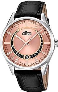Lotus Classic 15978/3 Reloj de Pulsera para hombres Momento Estelar de Diseño de Lotus