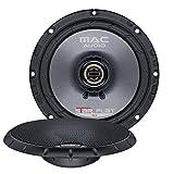 Mac Audio1107163 Star Flat 16.2 - ultraflacher 2-Wege Koaxial Einbaulautsprecher
