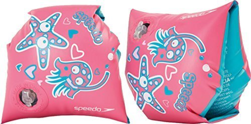 Only Sports Gear Speedo Sea Squad Armbands (2-6yrs) Pink