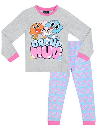 le-monde-incroyable-de-gumball-ensemble-de-pyjamas-the-amazing-world-of-gumball-fille-12-a-13-ans