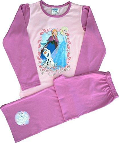 Disney - Pijama - Manga Larga - para niña rosa rosa