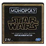 Image for board game Monopoly: Star Wars Complete Saga Edition Board Game for Kids Ages 8 & Up
