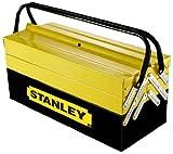 Stanley 94-738 - Caja de herramientas   (Negro, Amarillo, Metal, 45 cm, 20.8 cm, 20.8 cm)