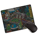 Frenemy High Quality Mouse Pad, Water Resistance Coating Natural Rubber Gaming Mouse Pad With Ergonomic Surface And Non Slippary Rubber Base With 3MM Thickness For Long Life