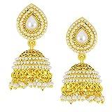 Shostopper Gold Plated Jhumki Earrings F...