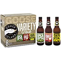 Goose Island Variety Ale Pack Bottle, 8 x 355 ml