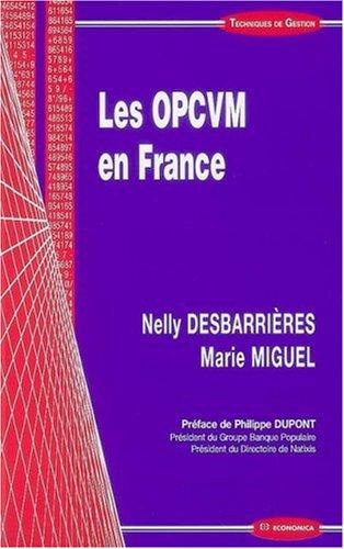 Les OPCVM en France
