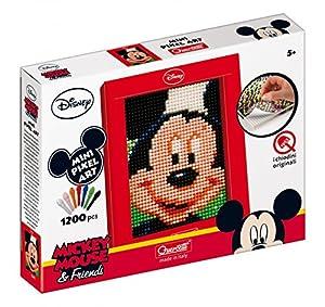 Quercetti - Mosaico con rejilla Mickey Mouse (0825)