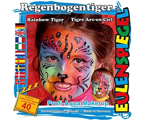 Für Face - Regenbogen-Tiger, Eulenspiegel, EU 204566 ()