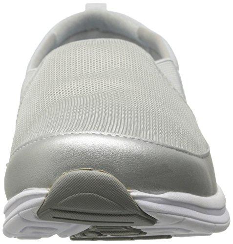 Easy Spirit Women's Sammi Walking Shoe, Silver Multi, 10 M US Silver Multi