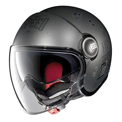 Casco moto abierto Negro Nolan Jet N21 MotoGP Legend (XXS - 54 cm)